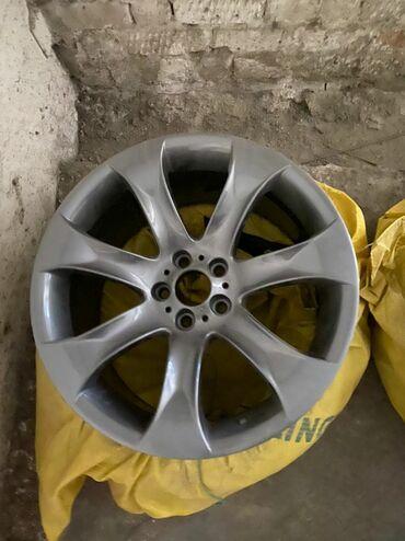 диски бу р14 в Кыргызстан: ОРИГИНАЛЬНЫЕ диски на BMW X5 Е53 стиль 168 (4.8is)Состояние идеальное
