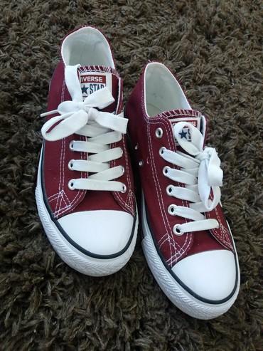 Ženska patike i atletske cipele | Zajecar: Bordo starke, broj 39, bez ostecenja, nosene par puta