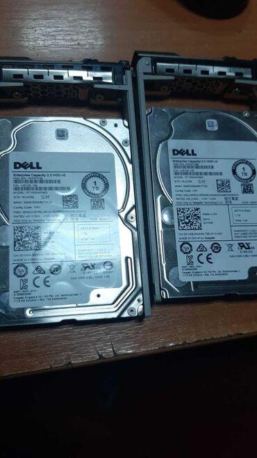 серверы 02 в Кыргызстан: Серверный жесткий диск 1Тb(dell) новые! 4000сом за 1TB  gb