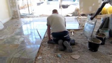 стяжка пола в на квартиру в Кыргызстан: Укладка мрамора, укладка гранита, укладка полов из натурального камня