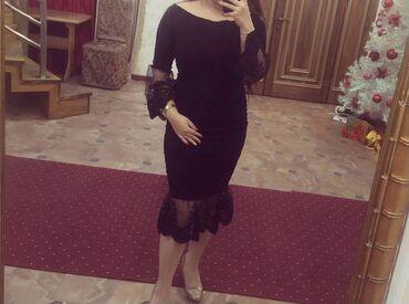 шикарное вечерние платье в Кыргызстан: Вечернее платьеШикарное,трикотаж,плотная ткань,одето было один раз на