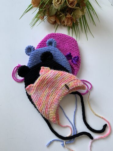 Детский набор,шапочка-чепчик с пинетками!!на заказ и в наличии.!!