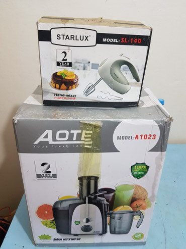 Juicer and hand mixer в Ош