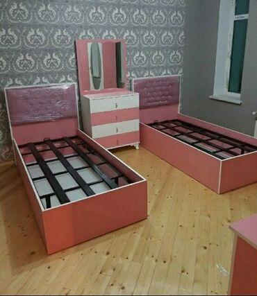 гарнитур для спальни в Азербайджан: Bazali carpayi 250azn