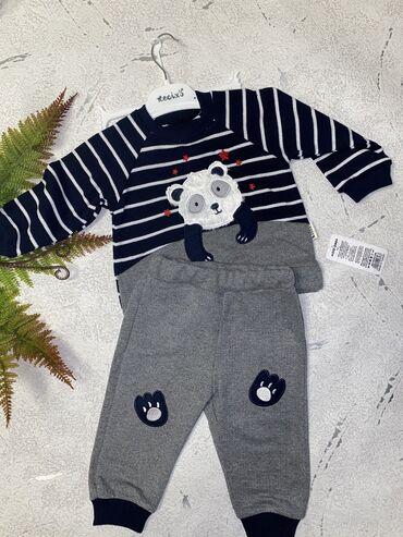 Детская одежда и обувь - Азербайджан: Dəst 3-6,6-9,9-12 ay. 100 % pambıq,Türkiyə istehsalı