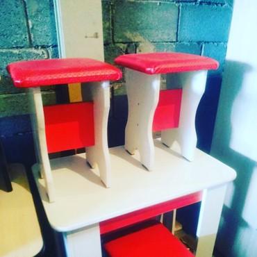Комплекты столов и стульев в Кыргызстан: Стол комплект 3000 табретка