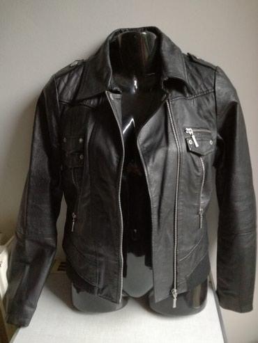 TALLY WEiJL kožna jakna vel:M/38 malo nošena kao nova,sve - Belgrade