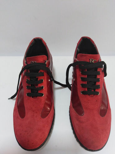 Cipele na platformu - Srbija: FC FIORE CLUB ITALY vrhunske kožne patike prirodna fina mekana