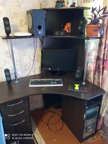 Продаю компьютер со столом описание на фото. Все вопросы по основному