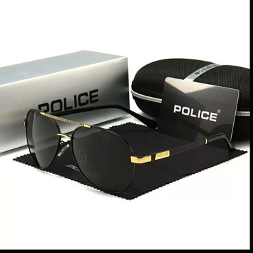 POLICE Солнцезащитные поляризационные очки, роскошные, брендовые