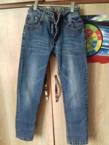 Классные джинсы на мальчика 7-8 -9 лет. Фабричный Китай, качество