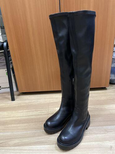 продам клексан в Кыргызстан: Продам супер зимние ботфорты натуральная кожа, мех, производство Турци