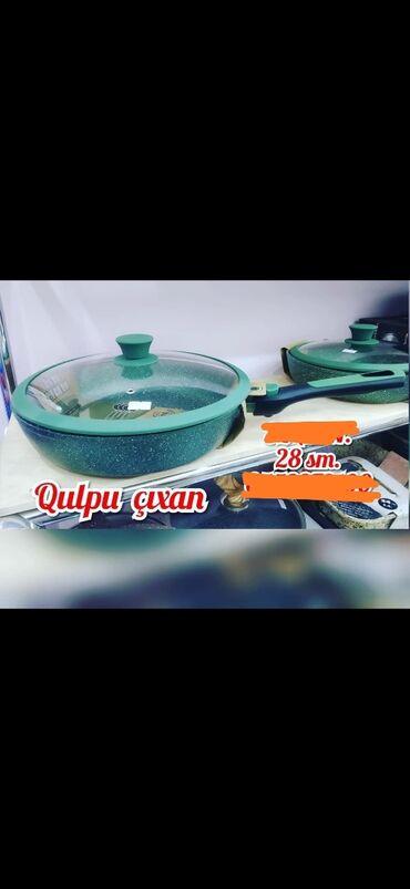 tava - Azərbaycan: Qulpu cixan qranit tava. 28 sm 42 AZN. 24 sm 37 AZN
