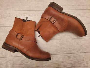 обувь в Кыргызстан: Кожанные сапоги привезенные с Америки качество отличное