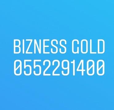 Bakı şəhərində GOLD 0552291400 Bakcell