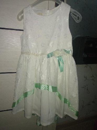 Детские платья в Кыргызстан: Новое нарядное платье на3-4 года