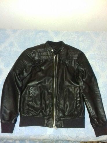 Kožna jakna,polovna,muška,dobro očuvana. - Batajnica