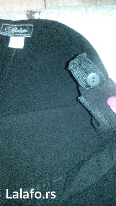Pantalone-boja - Srbija: Trudnicke pantalone,boja crna. Stanje savršeno!! Obučene par puta