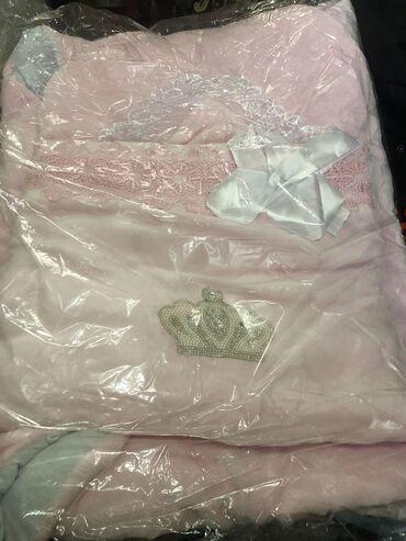 Продаётся конверт на выписку для принцессы новый за 600 сом, покупала