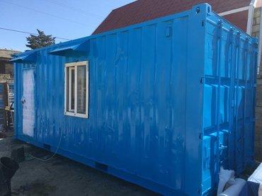 40 futluq dniz konteyneri - Azərbaycan: Konteyner SATILIR və icarəyə (kirayə, arenda) verilirUzunu 6m Eni 2m