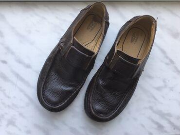 детская обувь 12 см в Азербайджан: Кожаные туфли.Б/у.31 размер.Размер стопы 22 см. В хорошем