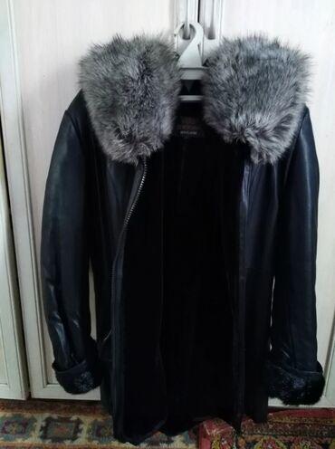 Продаётся кожаная куртка натуральный мех, производство Турция размер