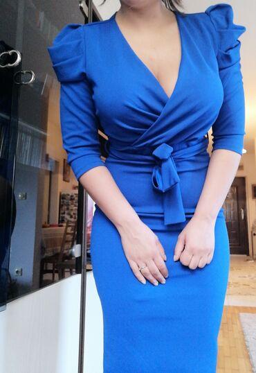 Elegantna univerzalna haljina ima elastina, cena je Fixna