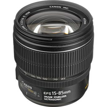 Canon EF-S 15-85mm f/3.5-5.6 IS USM Lens в Bakı