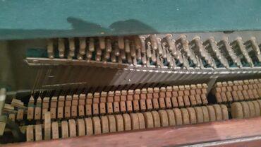 Piano və fortepianolar - Azərbaycan: Pianino köklənməsi