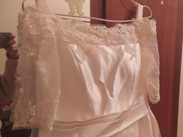 Продам вечерное длинное платье, молочного цвета. Так же платье