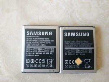 Samsung original akomulatorlari islek veziyetdedi ikisi bir yerde-