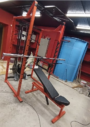 Универсальный Тренажер 10 в 1В тренажер входитСиловая рама для