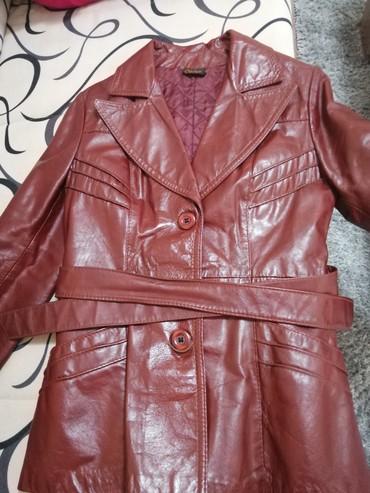Kozna jakna, mantil u dobrom stanju, val. S. Kanadska ppoizvodnja - Belgrade