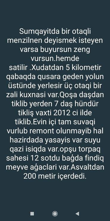 Daşınmaz əmlak - Xudat: Evlərin satışı 140 kv. m, 3 otaqlı