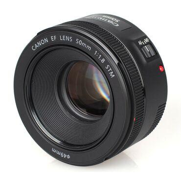 Fotoaparatlar Azərbaycanda: Canon EF 50mm f/1.8 STM Lens
