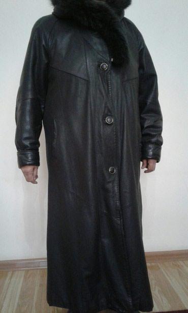Продаю кожаное пальто. в хорошем состоянии. производство Турция. в Novopokrovka