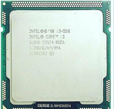 Dok-stansiya Azərbaycanda: Intel Core i3 - 550 processor 3.2GHZ dual-core cpu 4M 73w LGA 1156