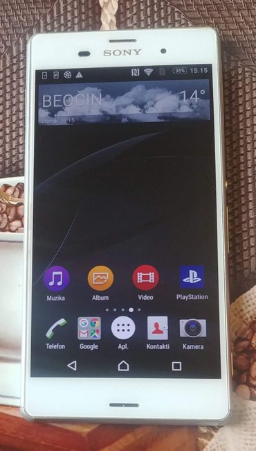 Sony xperia z3 dual e6533 white - Srbija: Sony Xperia Z3 - 5.2 inča Full HD - 3gb Ram - 21mpx . samo