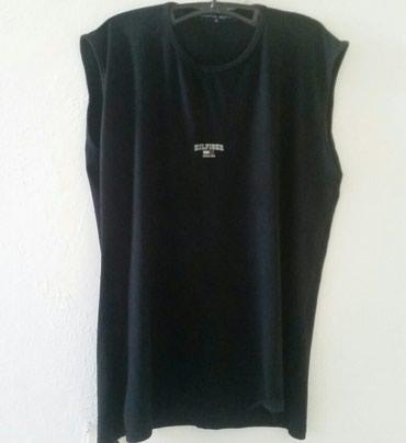Tommy Hilfiger crna majica bez rukava, XL velicina. Poluobim grudi 58 - Ruma