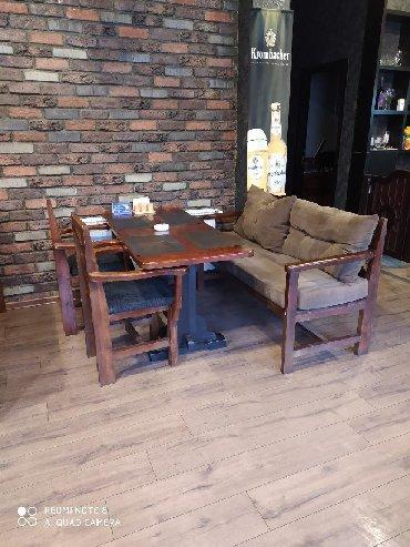 Restoranlar ucun divanlar masa ve oturacaqlar в Sabail