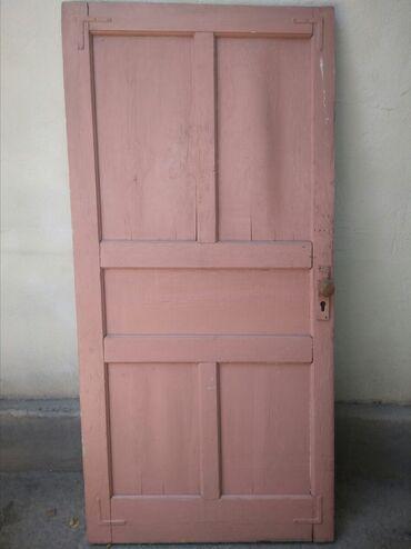 Входная/межкомнатная деревянная дверь б/у, советская. Торг уместен