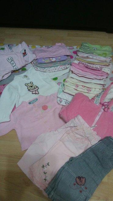paket odece za devojcice do 6 meseci 13 bodica,3-pantalonica,2-dzemper - Pozarevac
