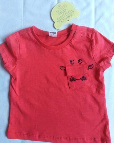 Dečija odeća i obuća | Beograd: Waikiki majica sa etiketom, velicina 74/80