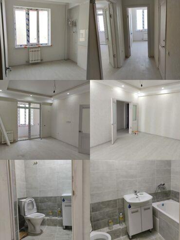 Новостройки - Кыргызстан: Продаем квартиру по выгодной цене ☝ 1ком кв. 39м2 на 5этаже из 12 с ре