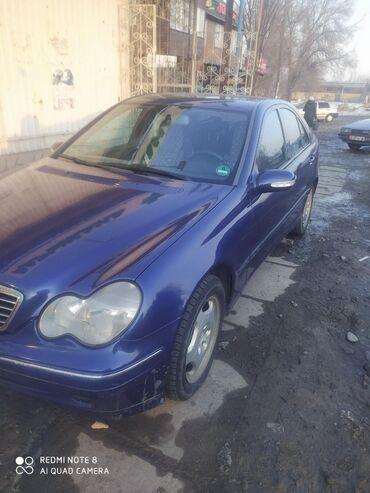 Mercedes-Benz - Sükan: sol - Сокулук: Mercedes-Benz C-Class 2 л. 2000