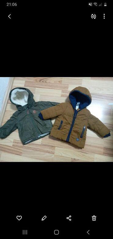 Dečija odeća i obuća - Presevo: Dve jaknice za 1000 din.Braon c&a bez ikakvog ostecenja H&m