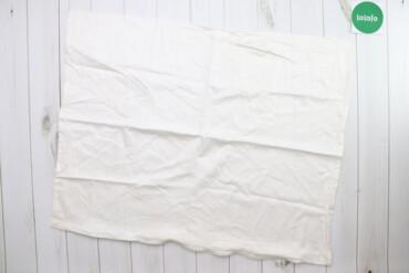 Біла наволочка на блискавці    Довжина: 85 см Ширина: 67 см  Стан гарн