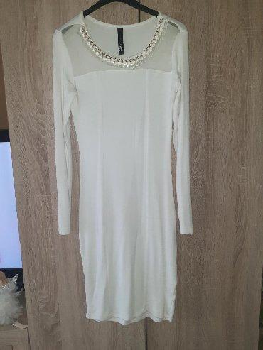 Haljina materijal elastin - Srbija: Firmirana haljina,materijal izuzetno prijatan na dodir,pamuk,likra sa