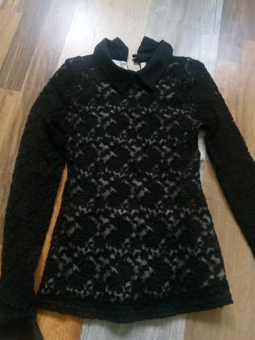 Crna bluza sdugim rukaviz italij - Srbija: Bluza xs crna Orsayneostecena
