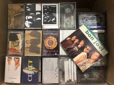 sumka firmy david jones в Кыргызстан: Продаю коллекцию аудио кассет классического рока и не только.      Год